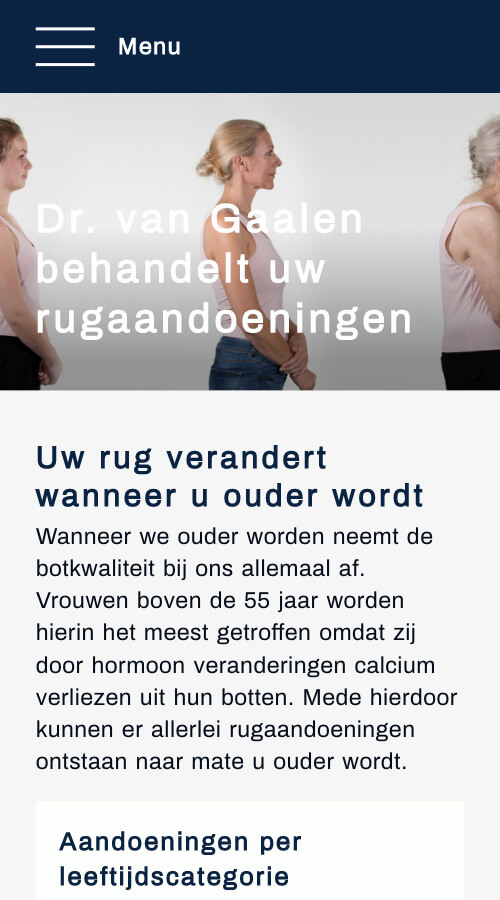 VONBRINK bouwt websites